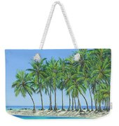 Tropical Lagoon Weekender Tote Bag