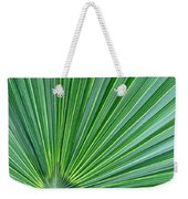 Tropical Leaf Weekender Tote Bag