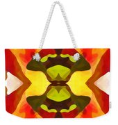 Tropical Leaf Pattern 1 Weekender Tote Bag