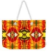 Tropical Leaf Pattern 2 Weekender Tote Bag