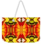 Tropical Leaf Pattern 7 Weekender Tote Bag