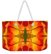 Tropical Leaf Pattern5 Weekender Tote Bag