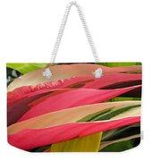 Tropical Leaves Abstract 3 Weekender Tote Bag