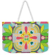 Tropical Mandala Weekender Tote Bag