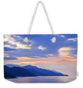 Tropical Mexican Coast At Sunset Weekender Tote Bag by Elena Elisseeva
