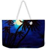 Tropical Moon On The Islands Weekender Tote Bag