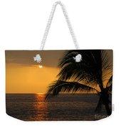 Tropical Ocean Sunset Weekender Tote Bag