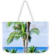 Tropical Palm Trees In Hawaii Weekender Tote Bag