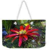 Tropical Plant Colors Weekender Tote Bag