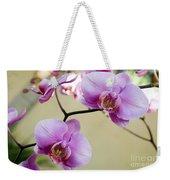 Tropical Radiant Orchid Flowers Weekender Tote Bag