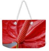 Tropical Red Anthurium Weekender Tote Bag