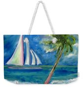 Tropical Sails Weekender Tote Bag