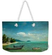 Tropical Seas Weekender Tote Bag