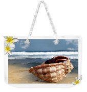 Tropical Shell 2 Weekender Tote Bag