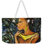 Tropical Shower Weekender Tote Bag