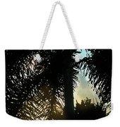 Tropical Silhouette Weekender Tote Bag