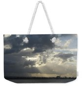 Tropical Stormy Sky Weekender Tote Bag