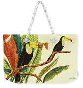 Tropical Toucans II Weekender Tote Bag