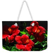 Tropical Trio Weekender Tote Bag