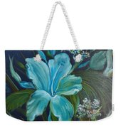 Tropical Turquoise Weekender Tote Bag