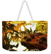 Tropical Water Garden Weekender Tote Bag