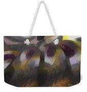 Tropical Wind Pastel Abstract Weekender Tote Bag