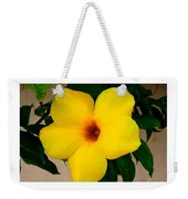 Tropical Yellow Blossom Weekender Tote Bag