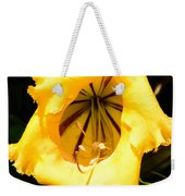 Tropical Yellow Weekender Tote Bag