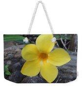 Tropical Yellow Flower Weekender Tote Bag