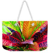 Tropicals Gone Wild Naturally Weekender Tote Bag