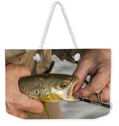 Trout Dentistry Weekender Tote Bag