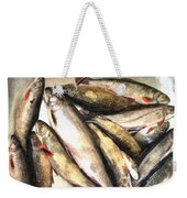 Trout Digital Painting Weekender Tote Bag