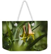 Trout Lily Flowers Weekender Tote Bag