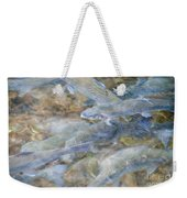 Trout Pond Abstract Weekender Tote Bag