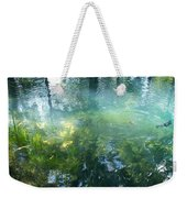 Trout Pond Weekender Tote Bag