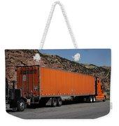 Truck Stop Weekender Tote Bag