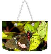 True Cattleheart Butterfly Weekender Tote Bag