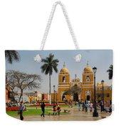 Trujillo Peru Plaza Weekender Tote Bag