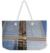 Trump International Hotel Under Construction Chicago Weekender Tote Bag
