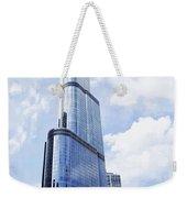 Trump Tower 3 Letter Signage Weekender Tote Bag
