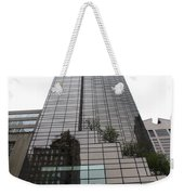 Trump Tower Reflection New York Weekender Tote Bag