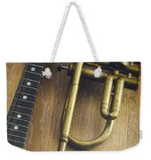 Trumpet And Banjo Weekender Tote Bag