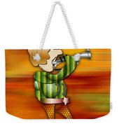 Trumpet Player Weekender Tote Bag
