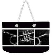 Trumpet Triptych Weekender Tote Bag