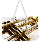Trumpet Valves Weekender Tote Bag