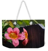 Trumpet Vine With Friend Weekender Tote Bag