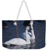 Trumpeter Swan Pair Weekender Tote Bag