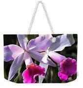 Trumpeting Purple Cattleya Orchids Weekender Tote Bag