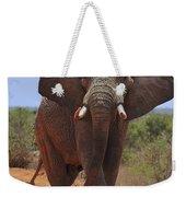 Tsavo Elephant Weekender Tote Bag