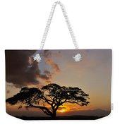 Tsavo Sunset Weekender Tote Bag